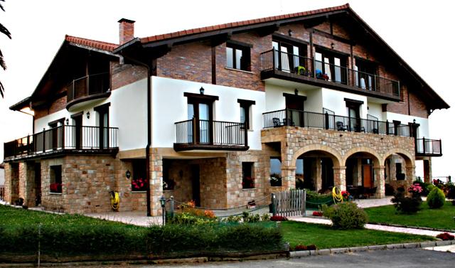 Usotegi Agroturismo, en Getaria, Euskadi