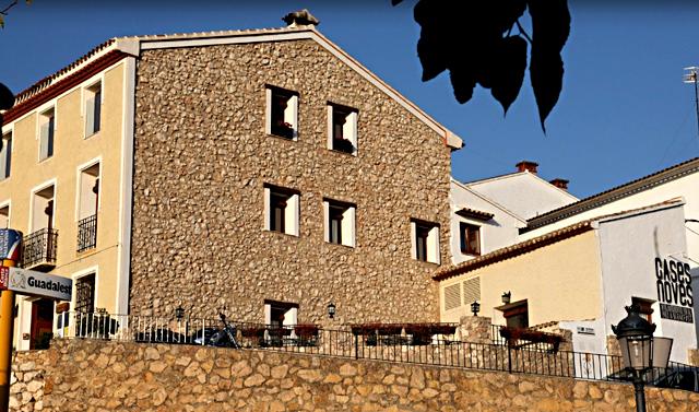 Cases Noves, en El Castell de Guadalest, Alicante