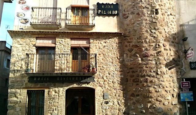 Casa Palacio de Montanejos, en Montanejos, Castellón