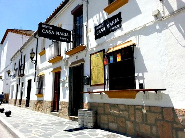 Casa María, en Ronda, Málaga.