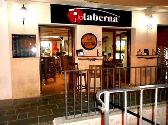La Taberna, en Ronda, Málaga.