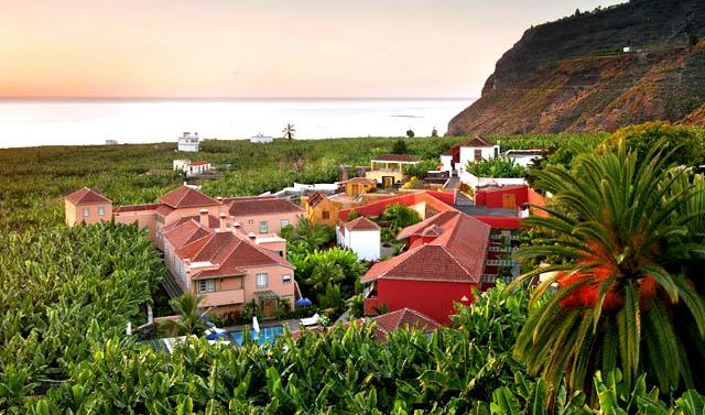 Hacienda de Abajo, en Tazacorte, Canarias