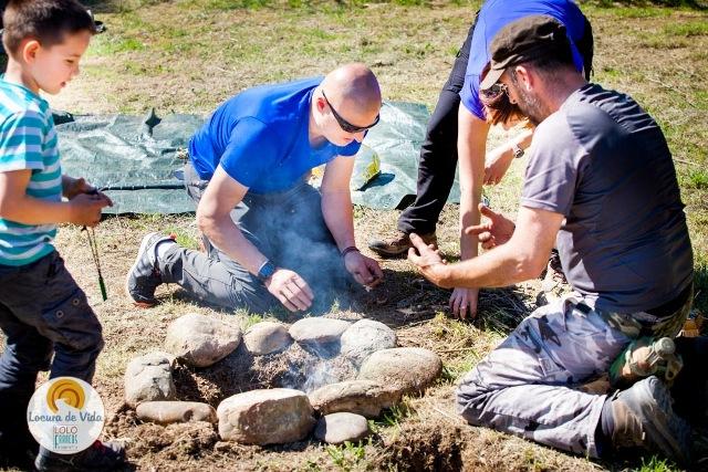 hacer fuego bushcraft