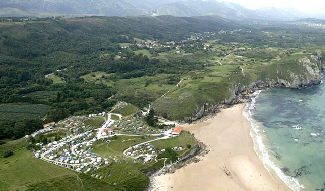 mejores campings asturias la paz
