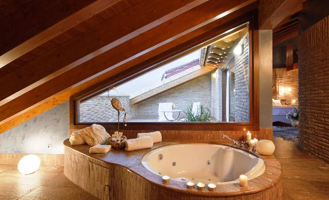 hoteles jacuzzi privado habitacion hospederia parajes