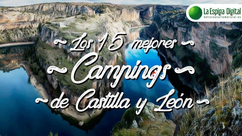 Los 15 Mejores Campings de Castilla León