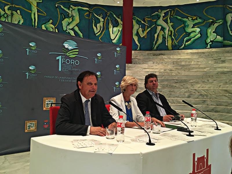 Presentación del Foro Nacional de Turismo y Despoblamientos