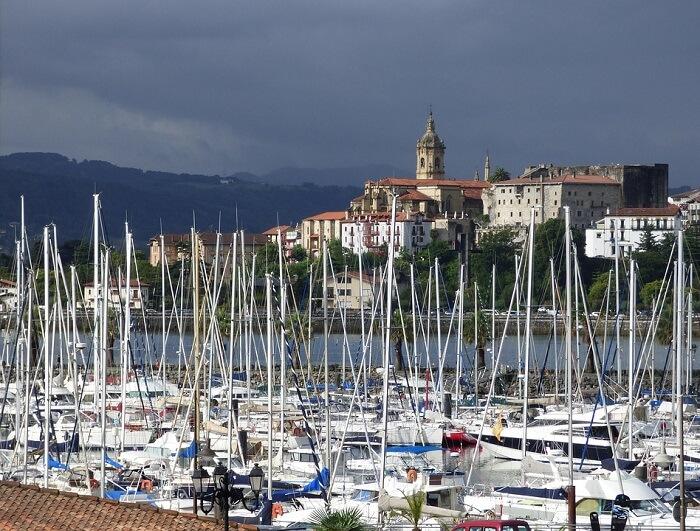 Descenso del turismo rural vasco en julio