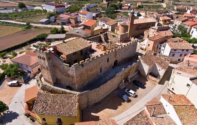 mejores hoteles jacuzzi zaragoza castillo grisel