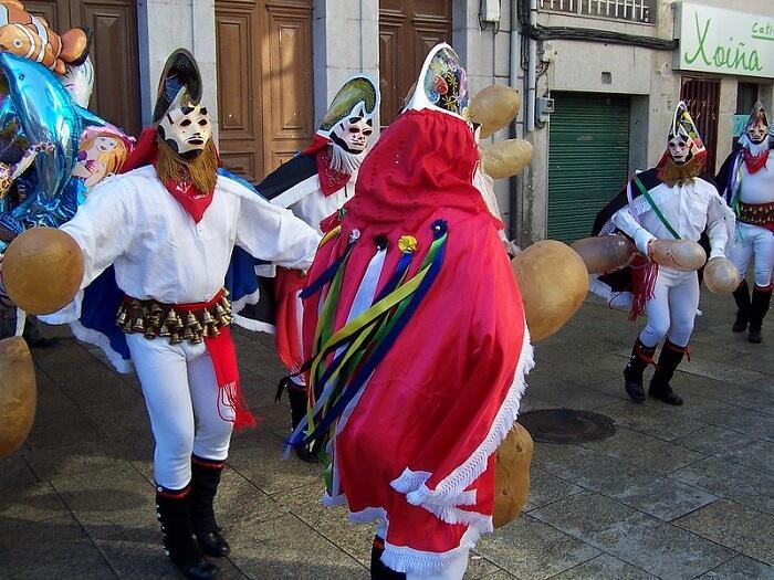 Comienza el carnaval de Xinzo de Limia, ¡el más duradero!