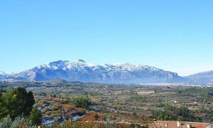 Espectacular aumento del turismo rural en la Serra de Mariola