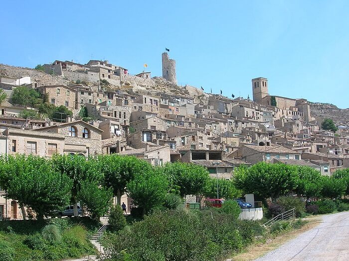 El turismo rural de Cataluña desciende con fuerza en diciembre