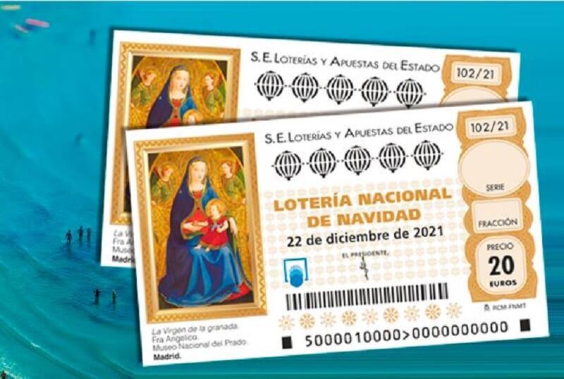regalo huesped loteria navidad