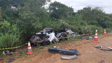 Photo of Grave acidente deixa três mortos próximo a Cândido Sales