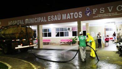 Photo of Feiras e hospitais são higienizados em Vitória da Conquista