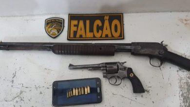 Photo of Polícia apreende armas escondidas em matagal do Miro Cairo