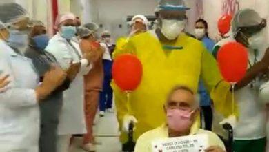 Photo of Ótima notícia! Mais um paciente se recupera da Covid-19 em Jequié, recebe alta e é aplaudido no hospital; assista