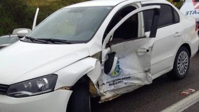 Photo of Carro da Câmara de Vereadores de Conquista se envolve em acidente na BR-116