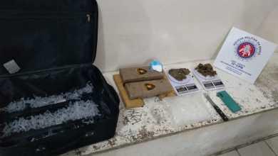 Photo of Mulher é presa com drogas na mala em bairro de Conquista