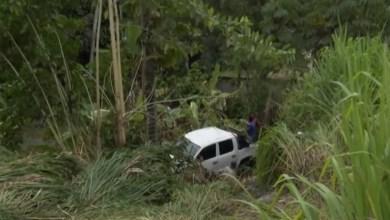 Photo of Cinco pessoas ficam feridas após carro cair em ribanceira no Sul da Bahia
