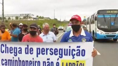 Photo of Caminhoneiros fazem atos em rodovias da Bahia