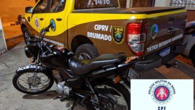Photo of Região: Moto roubada é encontrada dentro de bagageiro de ônibus