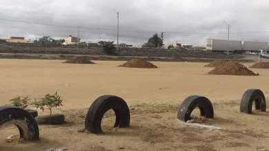 Photo of Conquista: Polícia militar interdita campo no bairro Santa Terezinha para evitar jogos