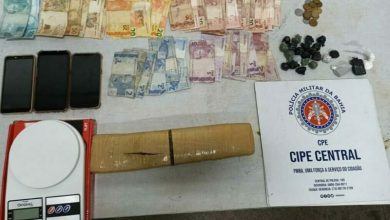 Photo of Casal é preso e adolescente apreendido com drogas e dinheiro em Jequié