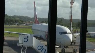 Photo of Avião bate em outra aeronave no aeroporto de Ilhéus