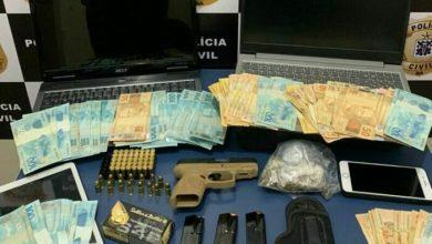 Photo of Conquista: Polícia civil prende no bairro Boa Vista suspeito de tráfico, lavagem de dinheiro e fraudes bancárias