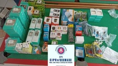 Photo of Polícia apreende mais de 800 produtos eletrônicos durante fiscalização na região