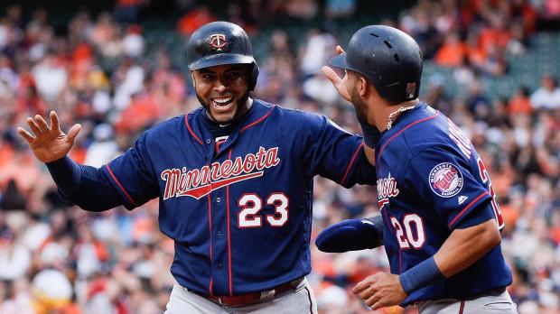 Twins Astros Baseball
