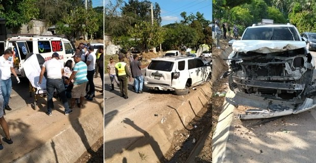 varias-personas-heridas-al-sufrir-accidente-en-joboban-de-villa-riva