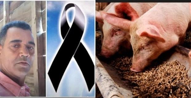 Muere hombre de forma repentina mientras se dirigía alimentar sus cerdos en Valverde