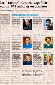 Captación de las Start Up Españolas