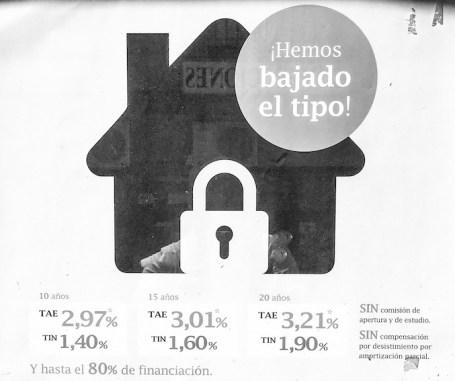 Oferta hipotecas