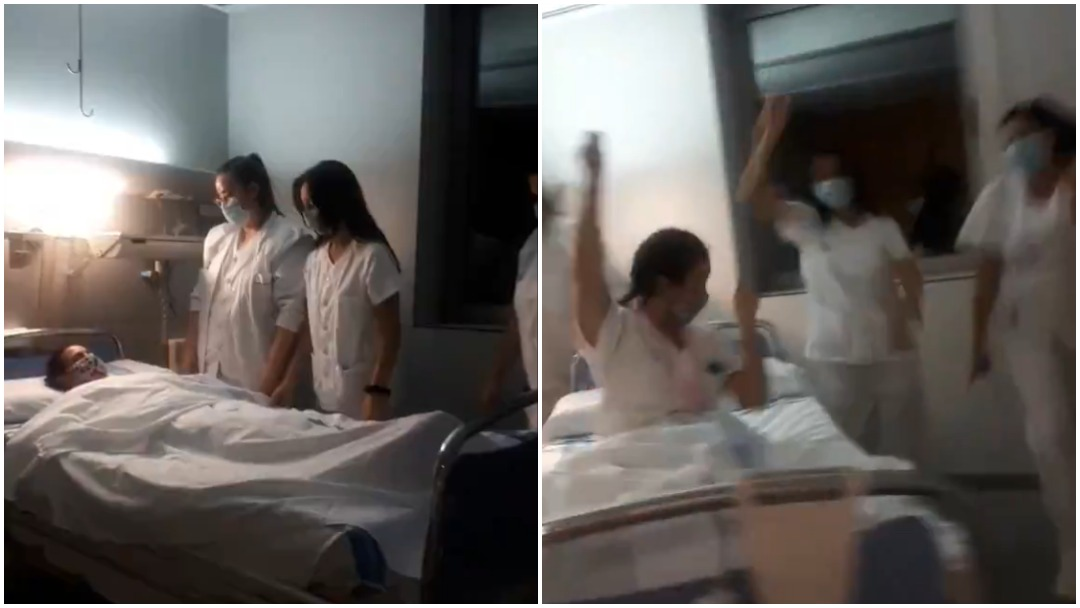Enfermeras en España son criticadas por su video en TikTok