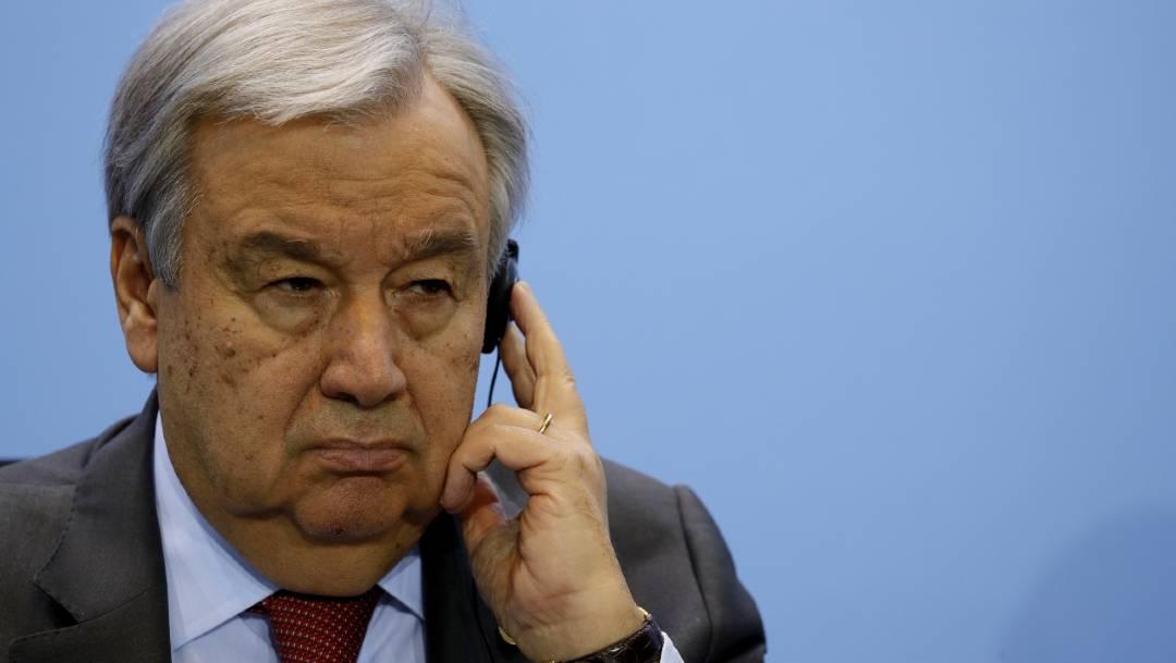 El secretario general de la ONU, António Guterres, pidió al G-20 financiar a países pobres el acceso a la vacuna para COVID-19