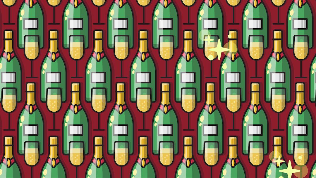 Reto visual: Busca tres botellas pequeñas