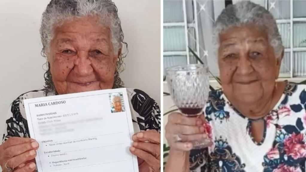 """Mujer de 101 años busca empleo para """"pagarse su vino"""""""