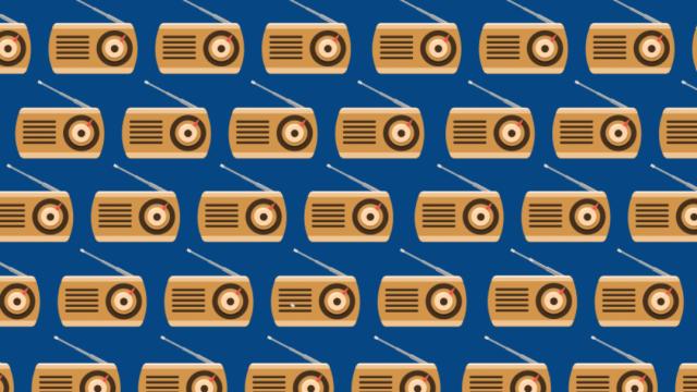 Reto visual: Encuentra las radios con la bocina del lado izquierdo