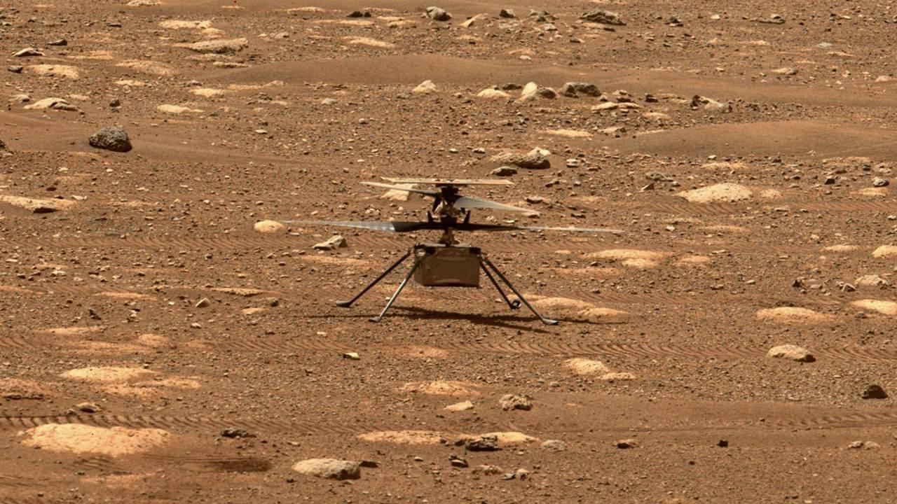 NASA retrasa vuelo del helicóptero Ingenuity en Marte
