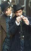 Law y Downey Jr., en 'Sherlock Holmes'