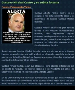 Gustavo Mirabal Castro asustado. Contrató con los reales robados a Vzla, compañía para borrar rastro de sus fechorías en la web¡! ... CREÉ ÈL ??? CORRUPTO EN MADRID Y DUBAI¡¡!! PROHIBIDO OLVIDAR