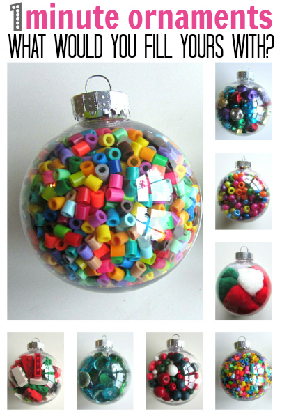 Bolas de Navidad para niños