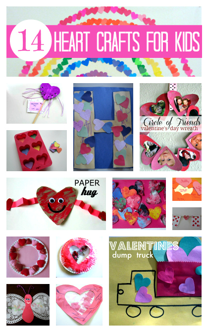 14 Heart Crafts Amp Activities For Kids