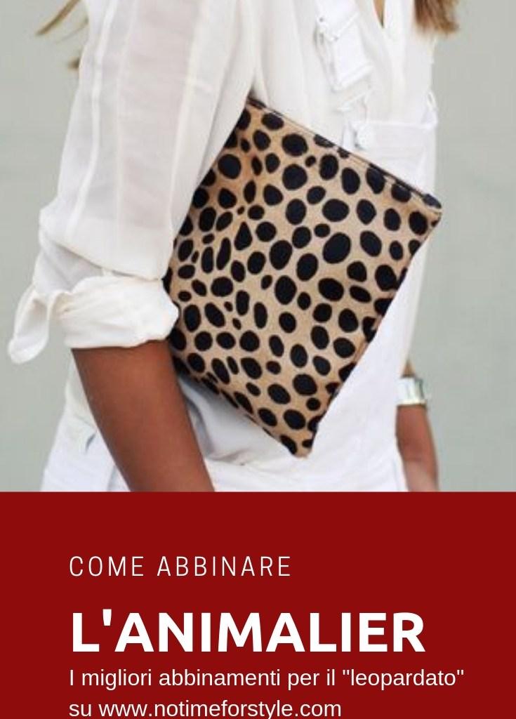 Come abbinare l'animalier: il leopardato
