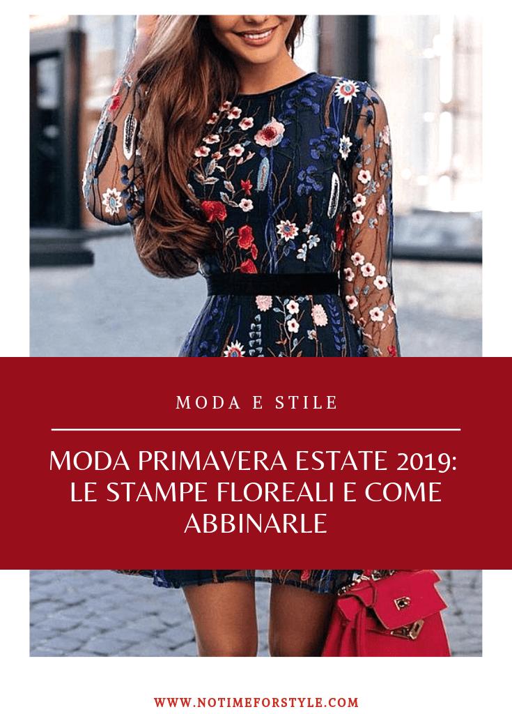 Stampe floreali: la moda primavera estate 2019