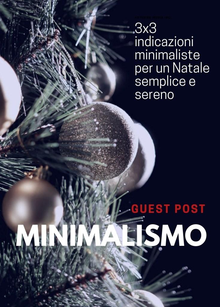 Indicazioni minimal per un Natale semplice e sereno