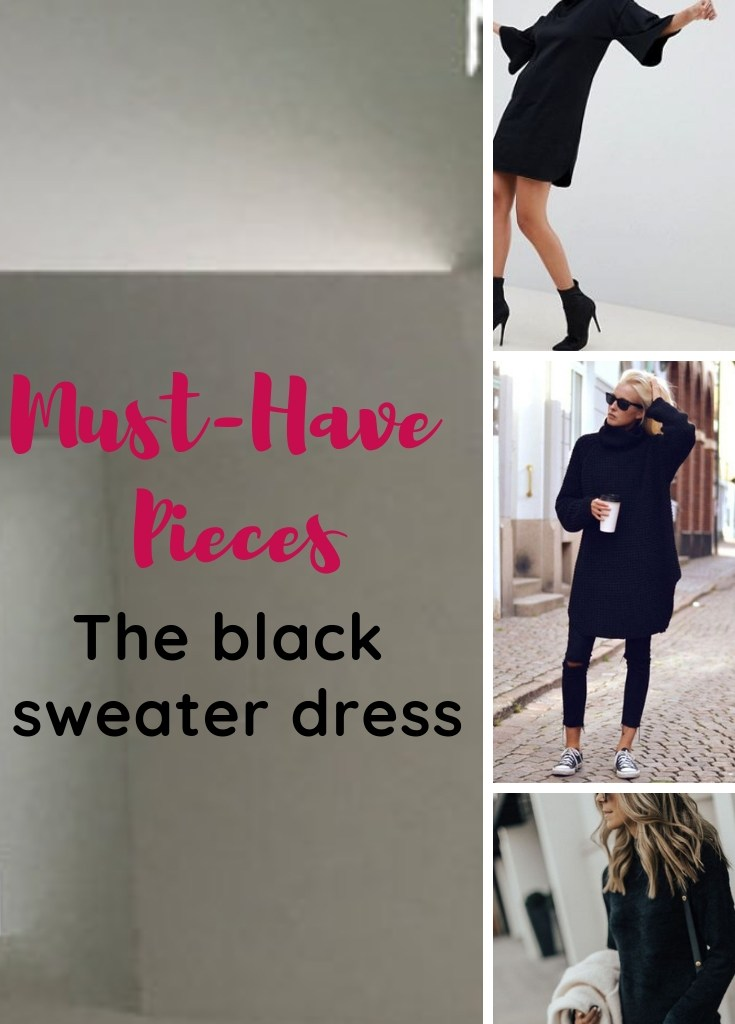 Must-Have: the Black Sweater Dress